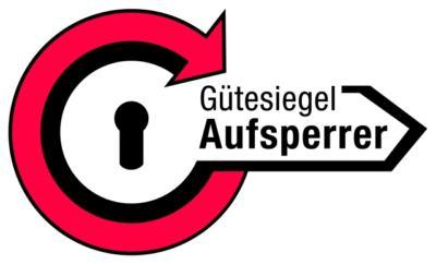 Gütesiegel Aufsperrdienst Schlüsseldienst Markus Wagner Aufsperrservice